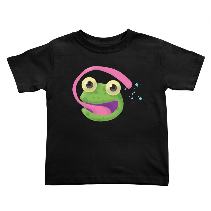 Licked Kids Toddler T-Shirt by Nathan Burdette's Artist Shop