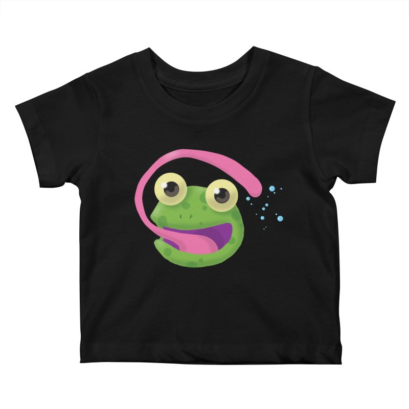 Licked Kids Baby T-Shirt by Nathan Burdette's Artist Shop