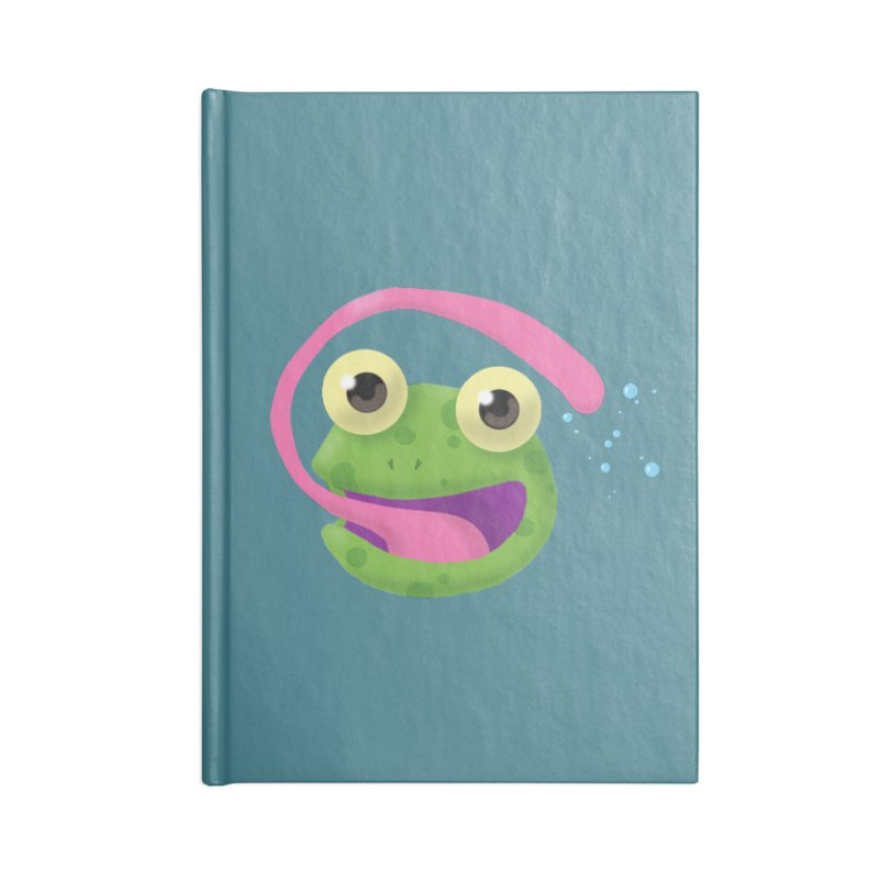 Licked Accessories Notebook by Nathan Burdette's Artist Shop
