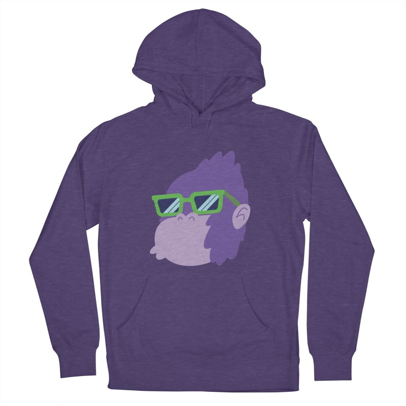 Grape Ape Men's Pullover Hoody by Nathan Burdette's Artist Shop