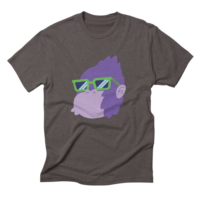 Grape Ape Men's Triblend T-Shirt by Nathan Burdette's Artist Shop