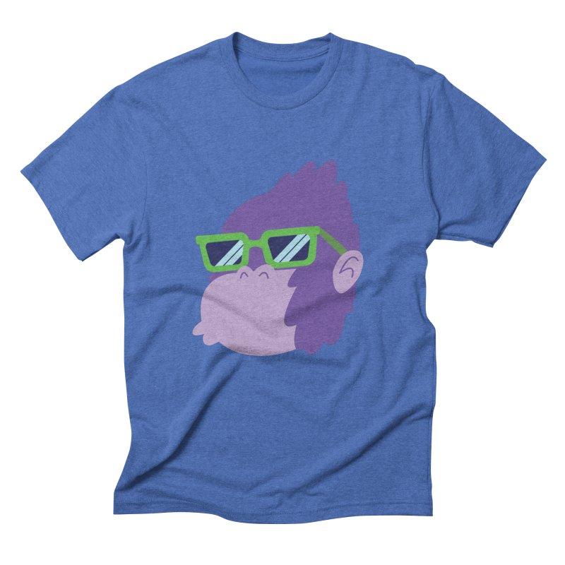 Grape Ape Men's Triblend T-shirt by Nathan Burdette's Artist Shop