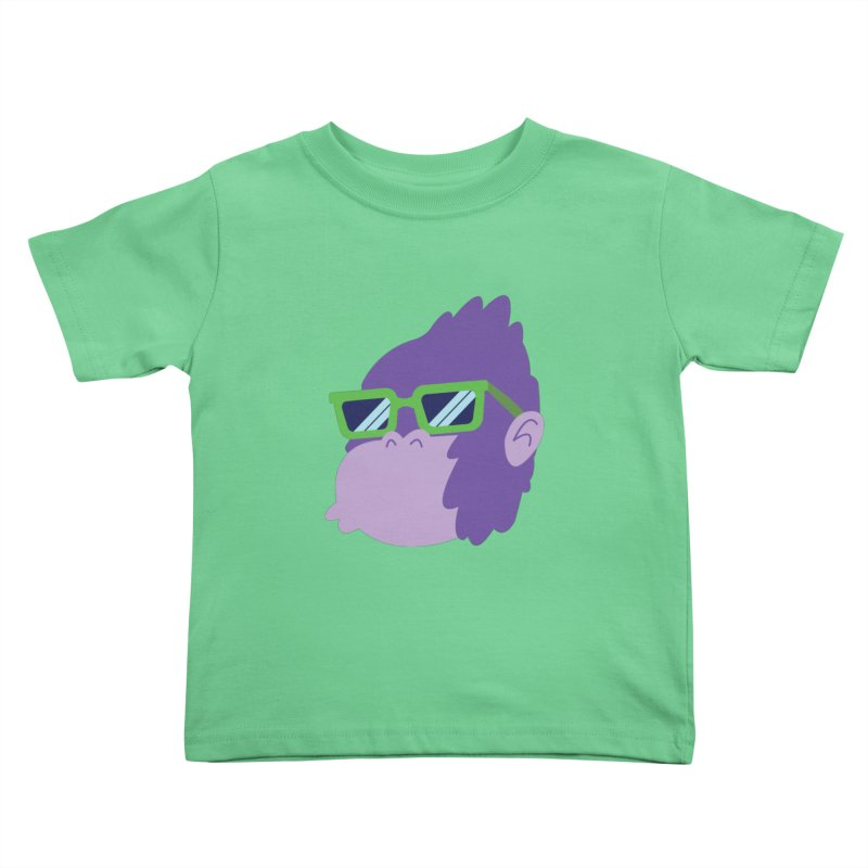 Grape Ape Kids Toddler T-Shirt by Nathan Burdette's Artist Shop