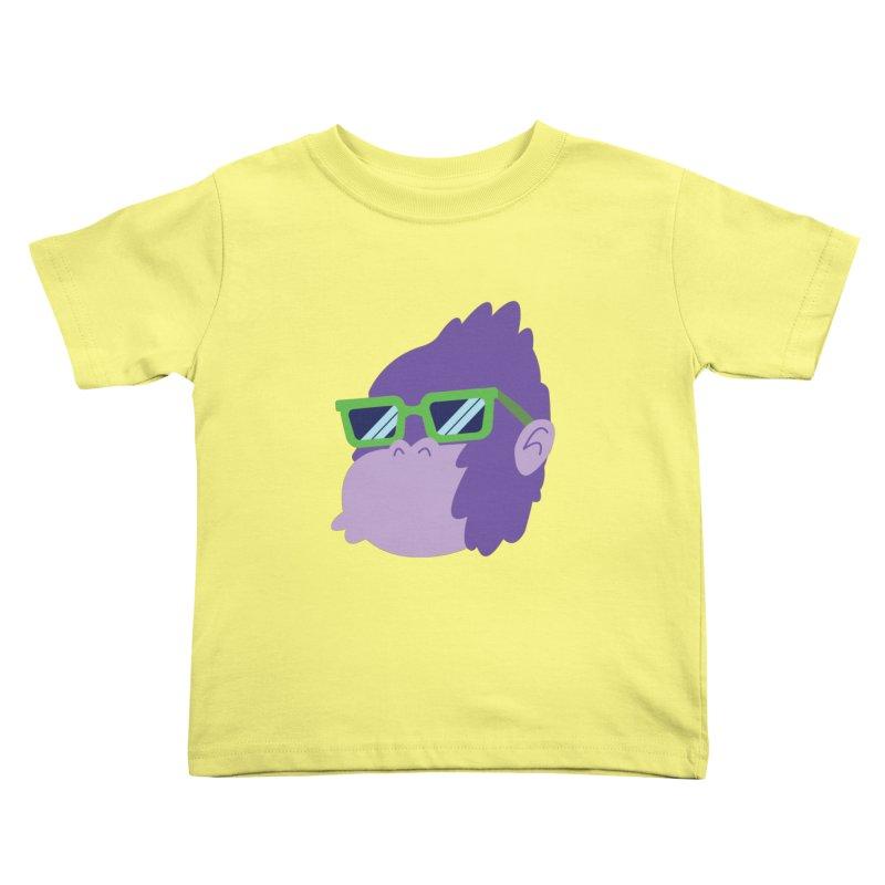 Grape Ape Kids Toddler T-Shirt by Nathan Burdette's Artist Shop