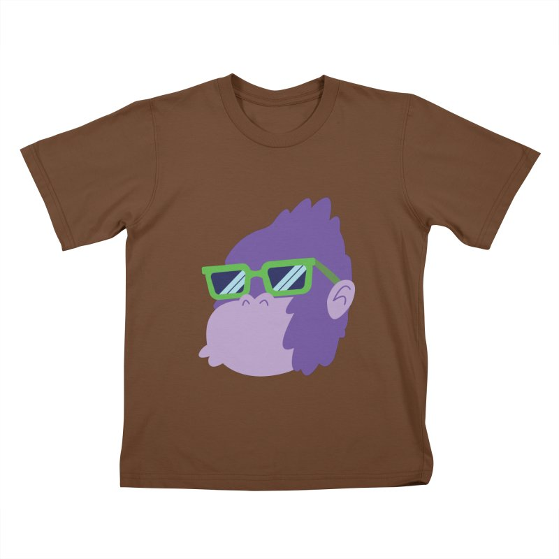Grape Ape Kids T-Shirt by Nathan Burdette's Artist Shop