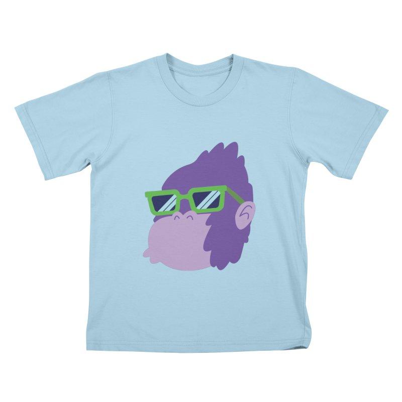 Grape Ape Kids T-shirt by Nathan Burdette's Artist Shop
