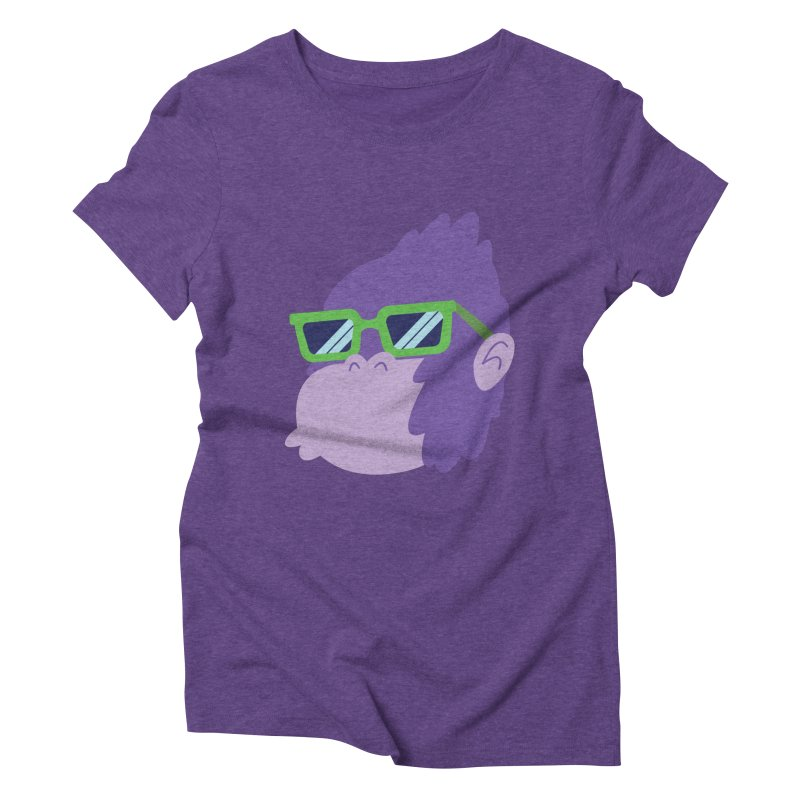 Grape Ape Women's Triblend T-Shirt by Nathan Burdette's Artist Shop