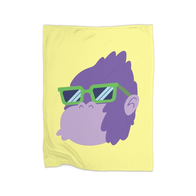 Grape Ape Home Blanket by Nathan Burdette's Artist Shop