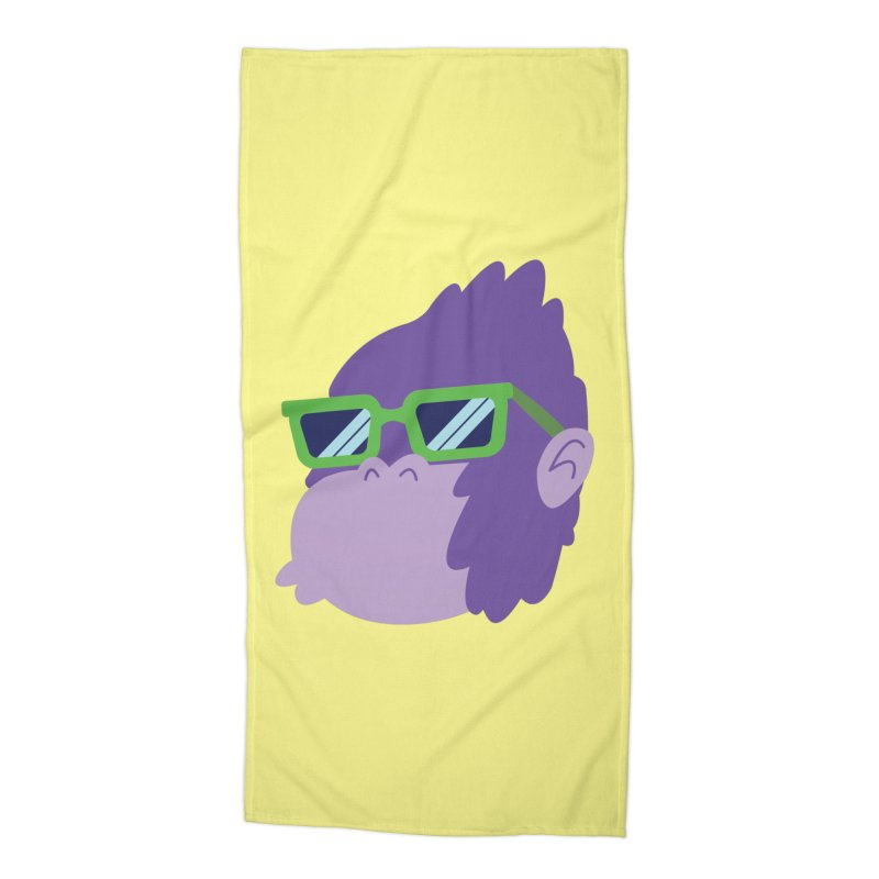 Grape Ape Accessories Beach Towel by Nathan Burdette's Artist Shop