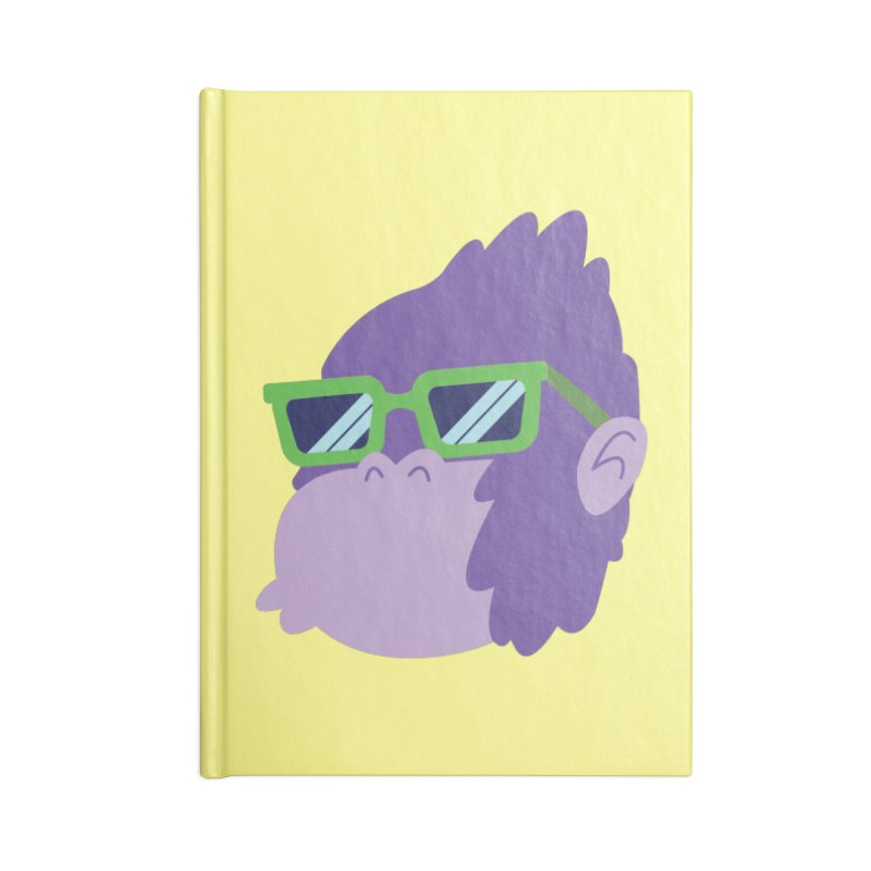 Grape Ape Accessories Notebook by Nathan Burdette's Artist Shop