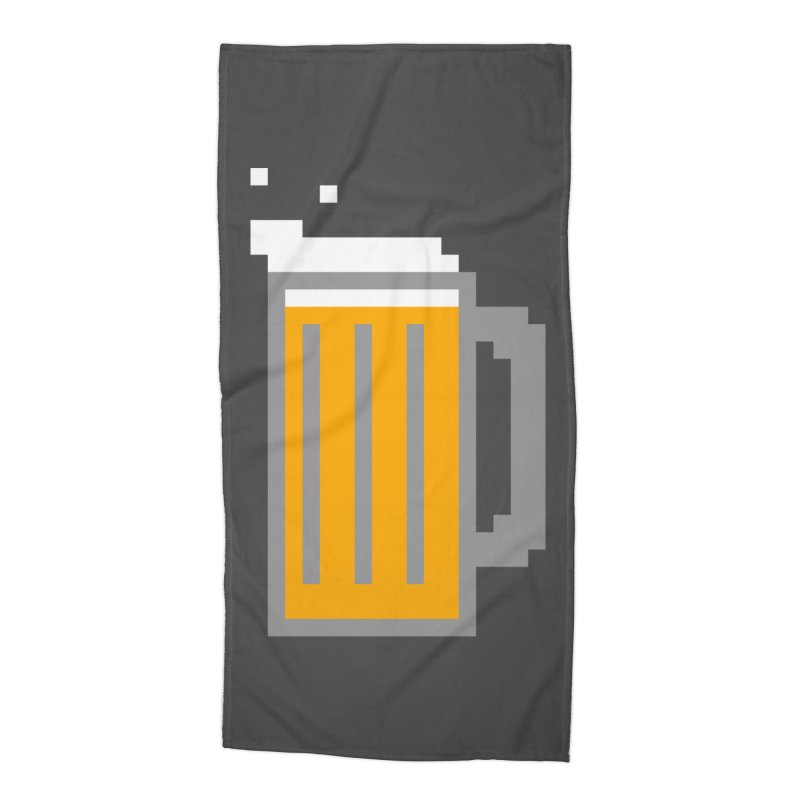 Beerxel Accessories Beach Towel by Nathan Burdette's Artist Shop