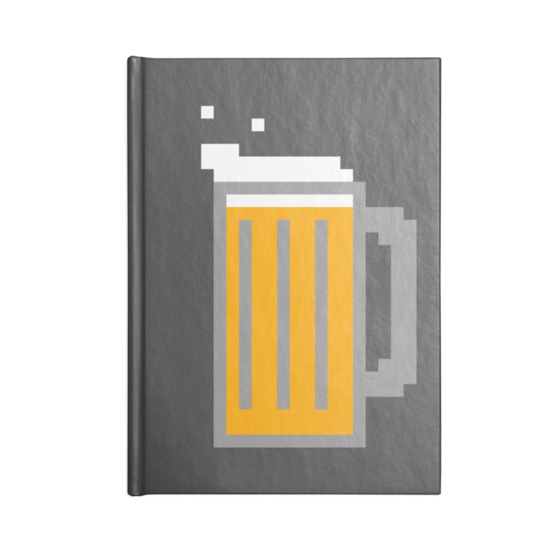 Beerxel Accessories Notebook by Nathan Burdette's Artist Shop