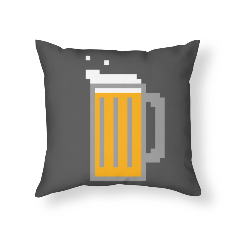 Beerxel Home Throw Pillow by Nathan Burdette's Artist Shop