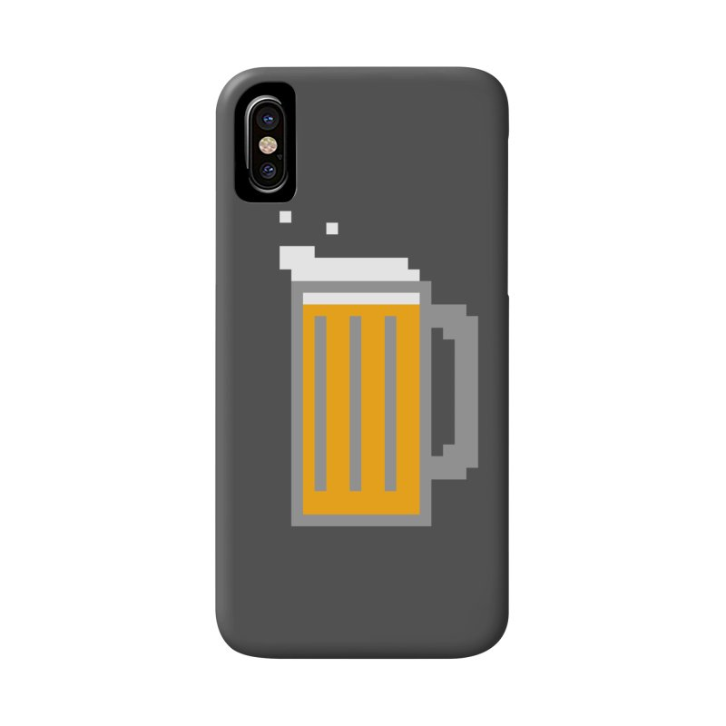 Beerxel Accessories Phone Case by Nathan Burdette's Artist Shop