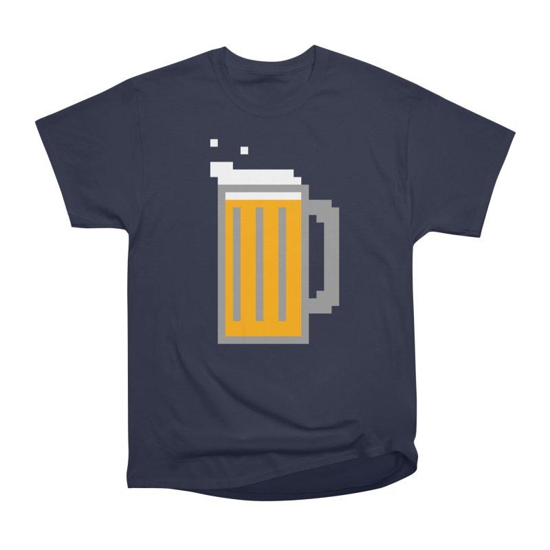 Beerxel Men's Classic T-Shirt by Nathan Burdette's Artist Shop