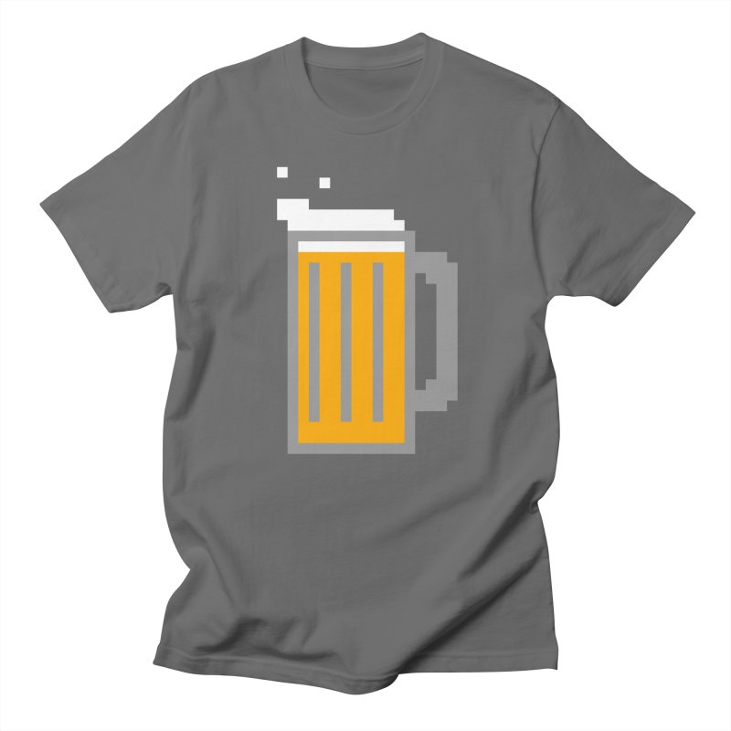 Beerxel Men's T-Shirt by Nathan Burdette's Artist Shop