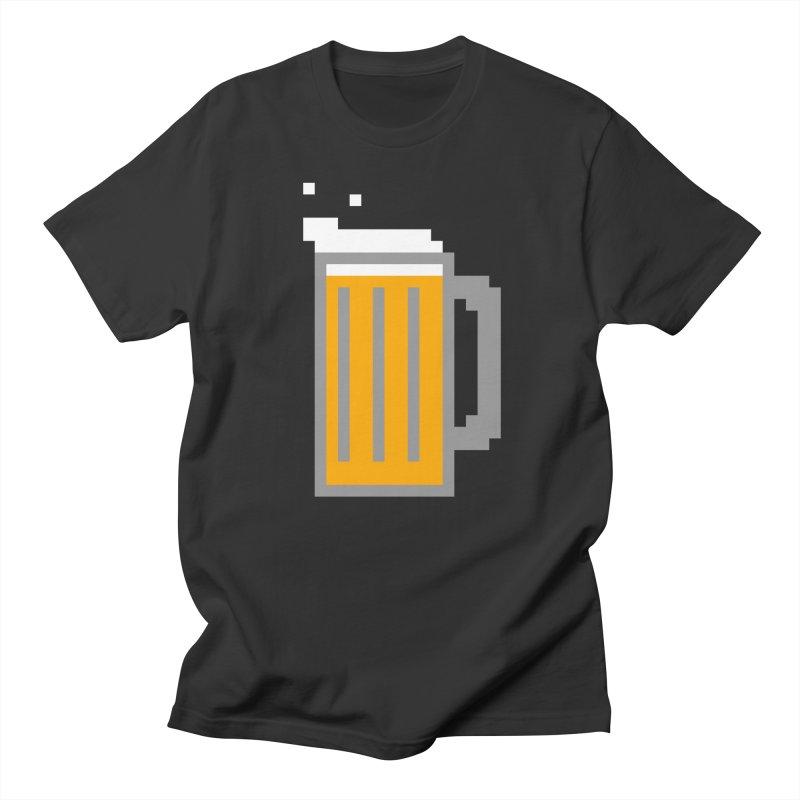Beerxel Men's T-Shirt by Nathan Burdette's Artist Shop