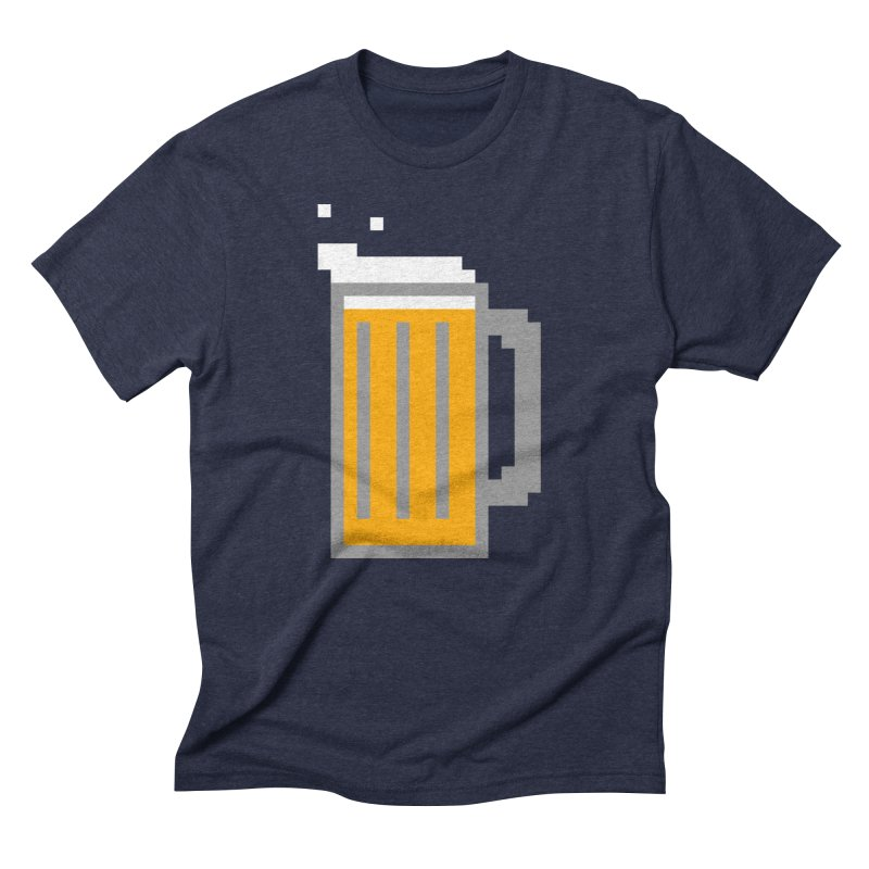 Beerxel Men's Triblend T-Shirt by Nathan Burdette's Artist Shop