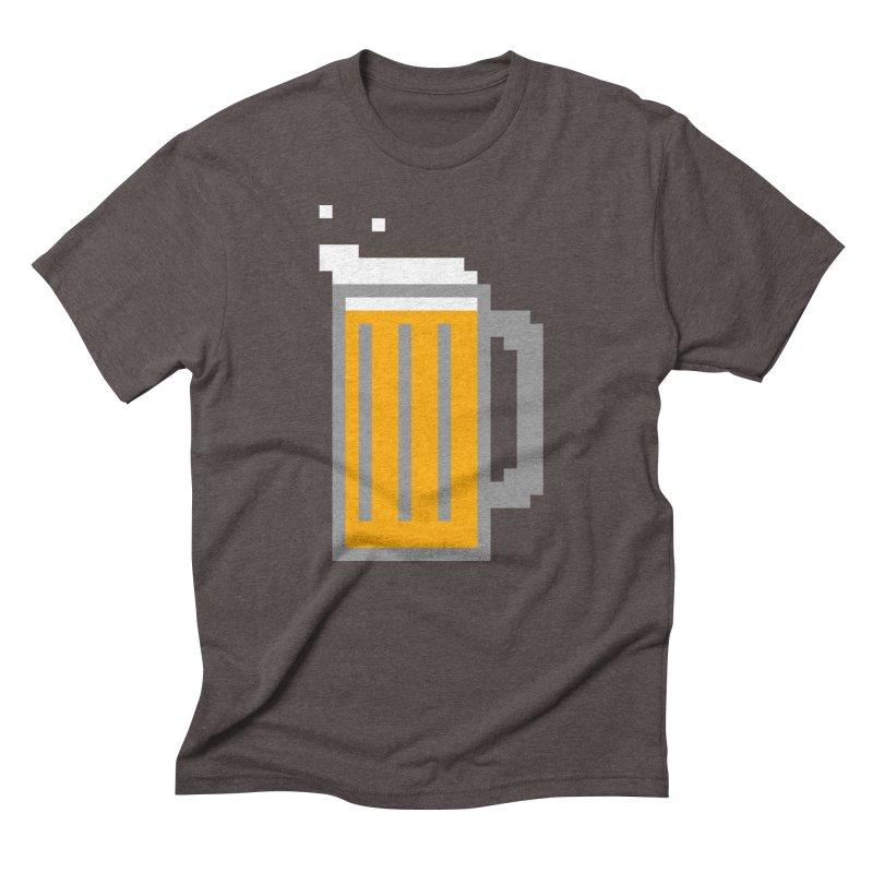 Beerxel Men's Triblend T-Shirt by Nathan Burdette's Artist Shop