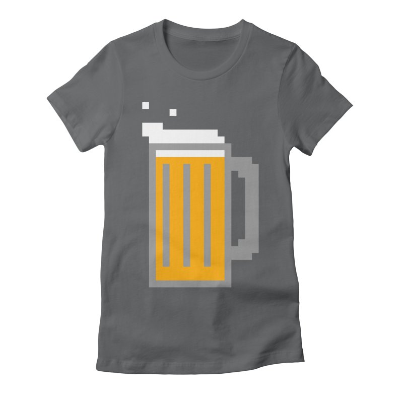 Beerxel Women's Fitted T-Shirt by Nathan Burdette's Artist Shop