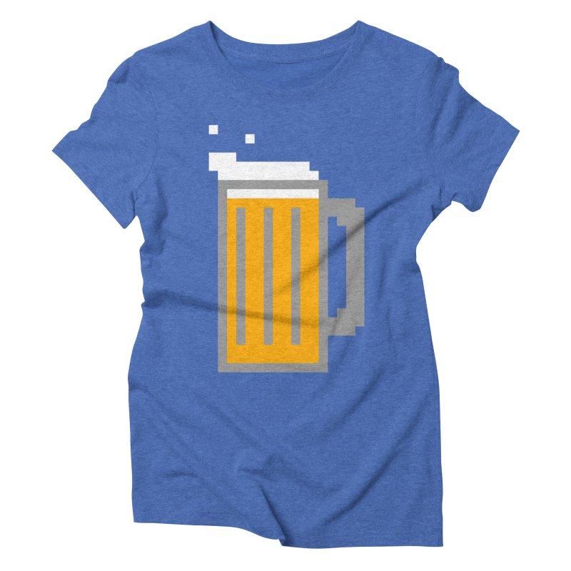 Beerxel Women's Triblend T-Shirt by Nathan Burdette's Artist Shop