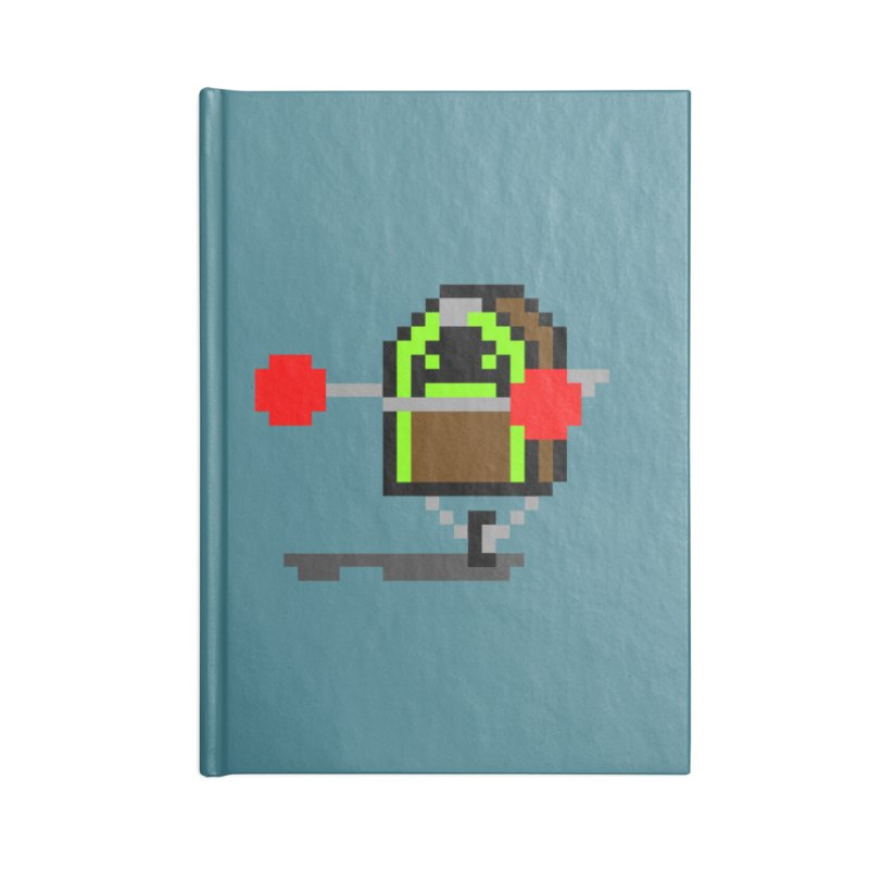 Jukebox Hero Accessories Notebook by Nathan Burdette's Artist Shop