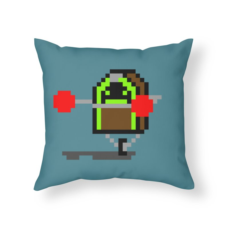 Jukebox Hero Home Throw Pillow by Nathan Burdette's Artist Shop