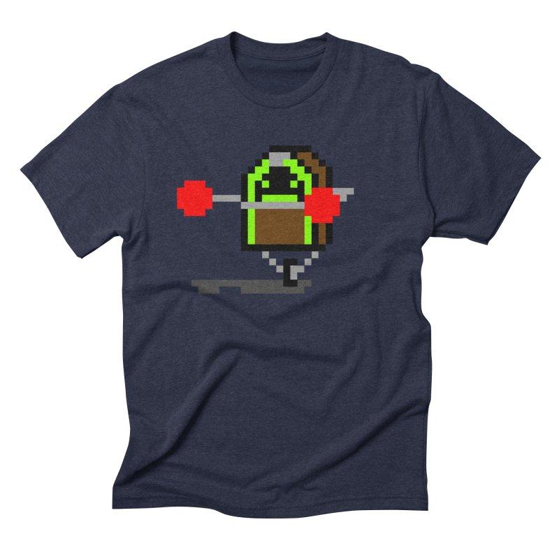 Jukebox Hero Men's Triblend T-Shirt by Nathan Burdette's Artist Shop