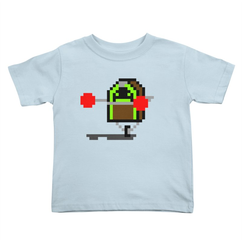 Jukebox Hero Kids Toddler T-Shirt by Nathan Burdette's Artist Shop