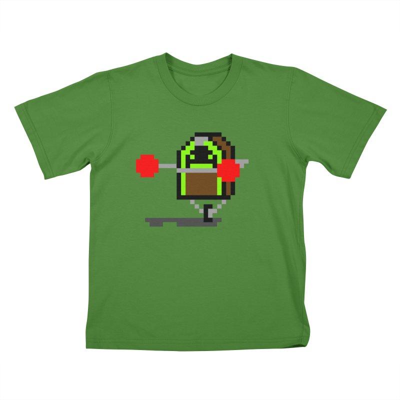 Jukebox Hero Kids T-Shirt by Nathan Burdette's Artist Shop