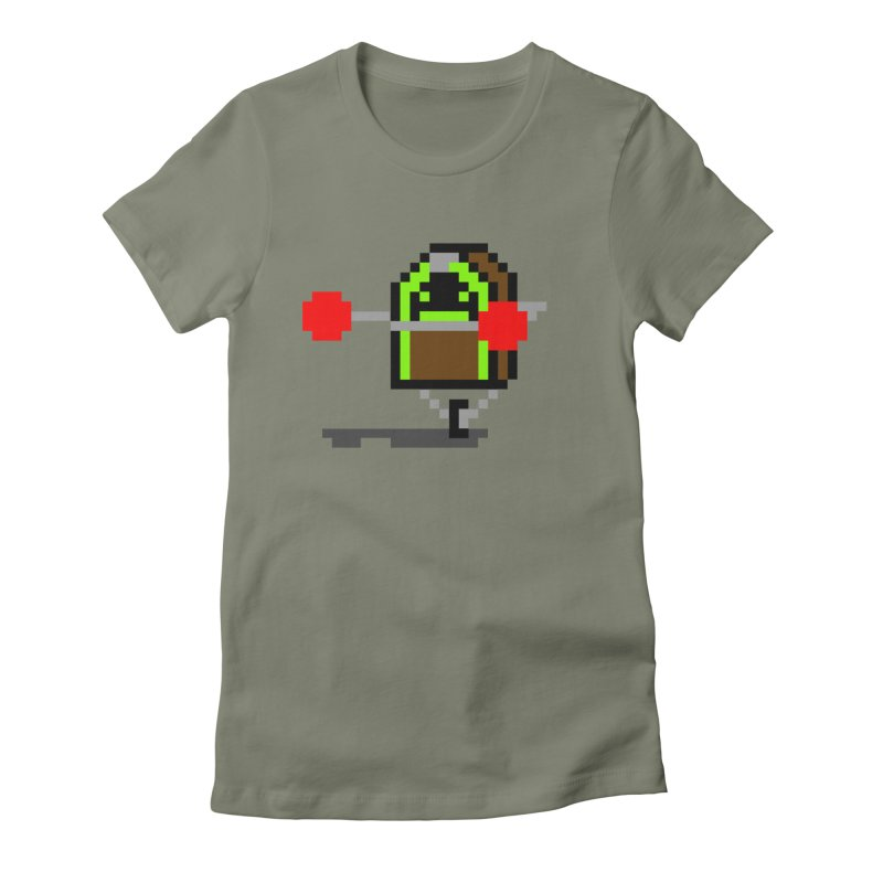 Jukebox Hero Women's Fitted T-Shirt by Nathan Burdette's Artist Shop