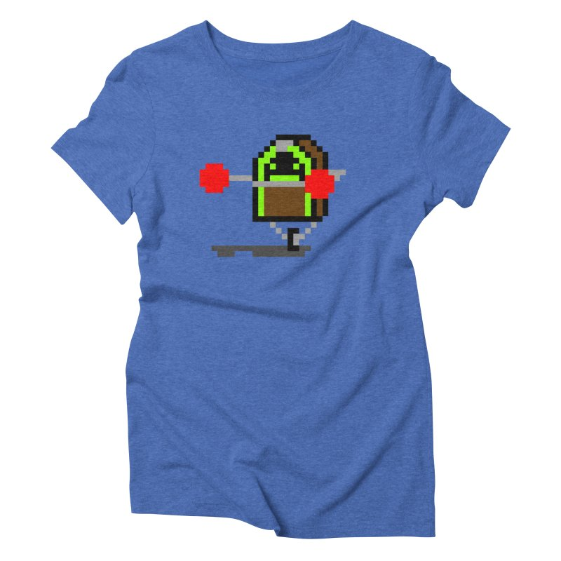 Jukebox Hero Women's Triblend T-Shirt by Nathan Burdette's Artist Shop