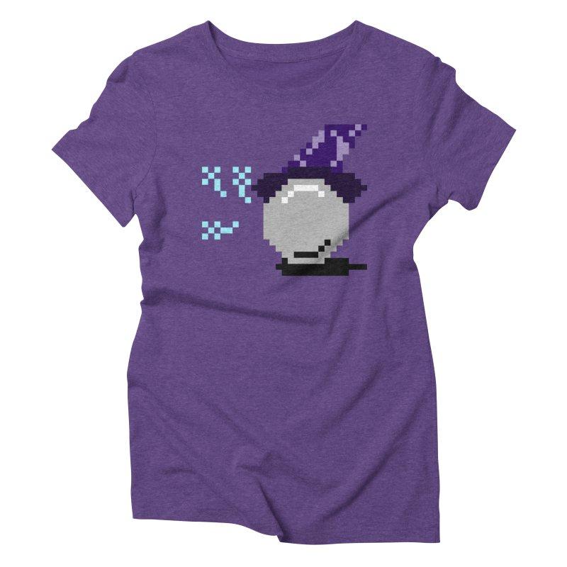 Pinball Wizard Women's Triblend T-shirt by Nathan Burdette's Artist Shop
