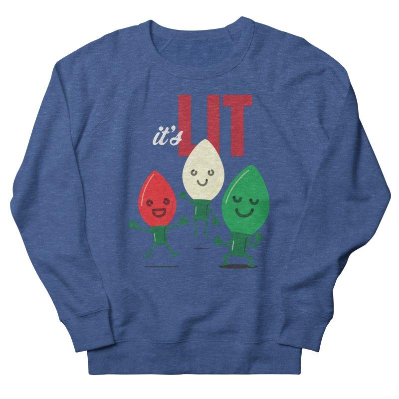 It's Lit Men's Sweatshirt by Nathan Burdette's Artist Shop