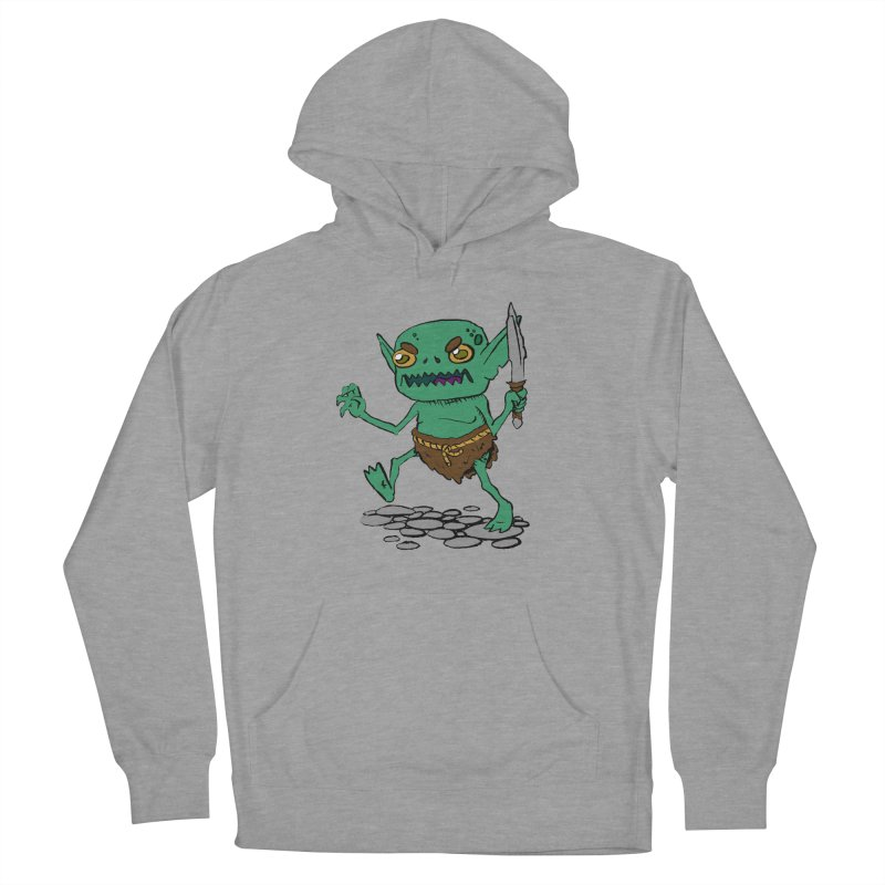 Sweet Goblin Boy Women's Pullover Hoody by Nathan Burdette's Artist Shop