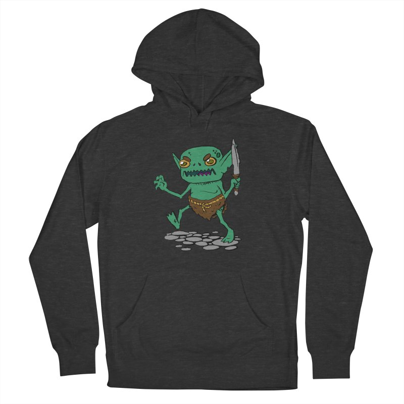 Sweet Goblin Boy Men's Pullover Hoody by Nathan Burdette's Artist Shop