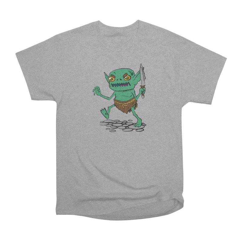Sweet Goblin Boy Men's Classic T-Shirt by Nathan Burdette's Artist Shop