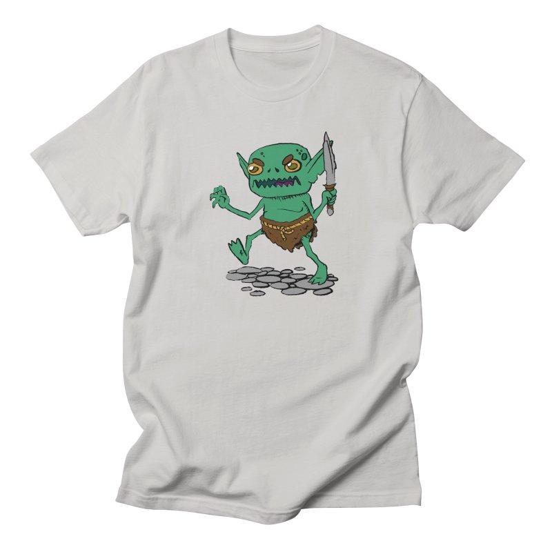 Sweet Goblin Boy Men's T-shirt by Nathan Burdette's Artist Shop