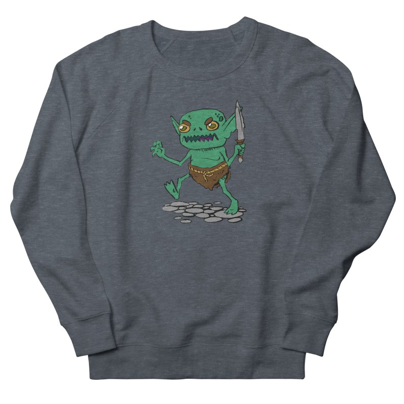 Sweet Goblin Boy Men's Sweatshirt by Nathan Burdette's Artist Shop