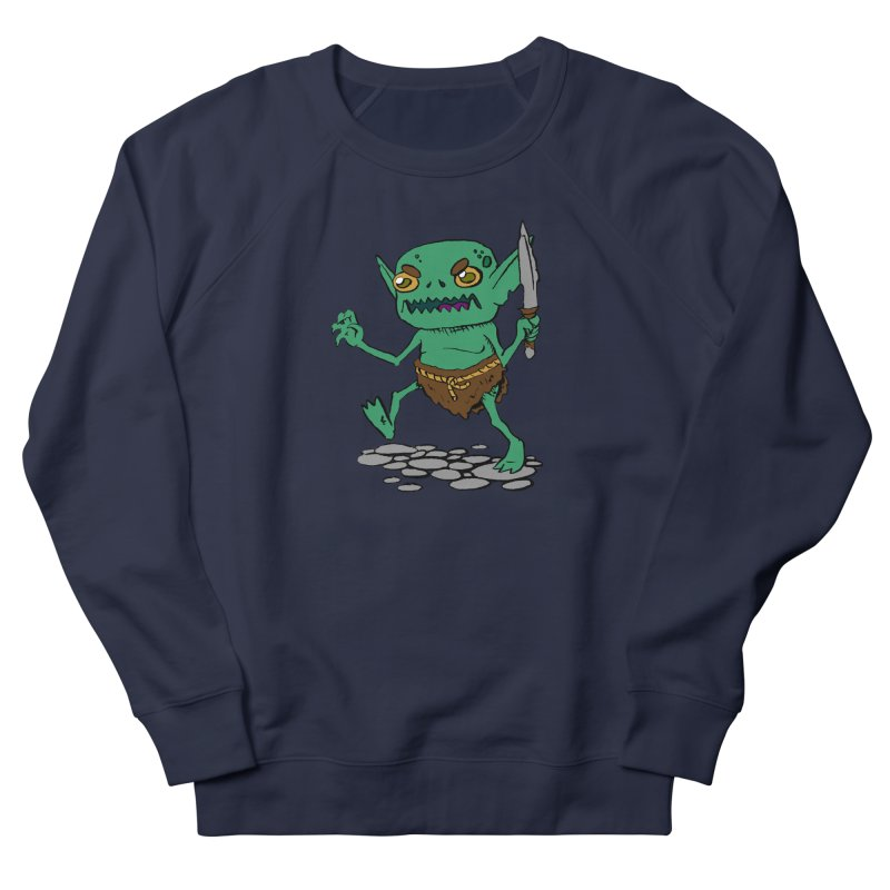 Sweet Goblin Boy Men's Sweatshirt by Nathan Burdette's Artist Shop