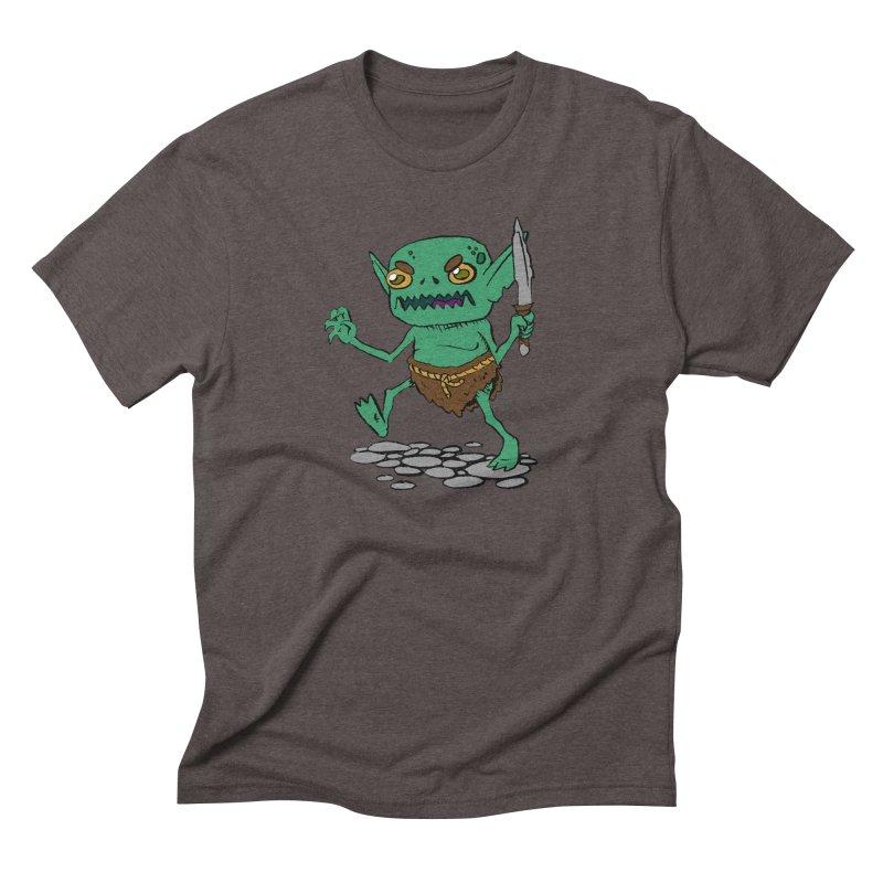 Sweet Goblin Boy Men's Triblend T-Shirt by Nathan Burdette's Artist Shop