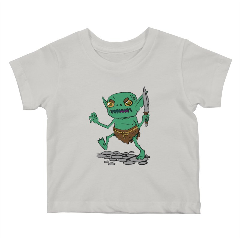 Sweet Goblin Boy Kids Baby T-Shirt by Nathan Burdette's Artist Shop