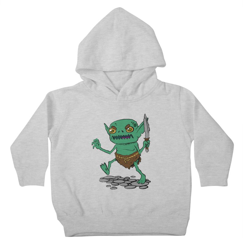 Sweet Goblin Boy Kids Toddler Pullover Hoody by Nathan Burdette's Artist Shop