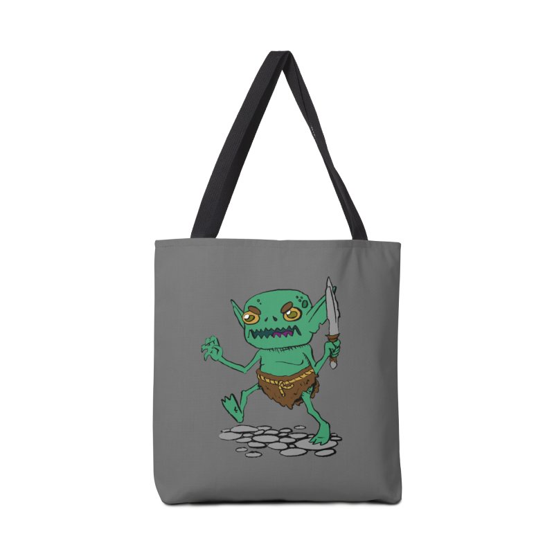 Sweet Goblin Boy Accessories Bag by Nathan Burdette's Artist Shop
