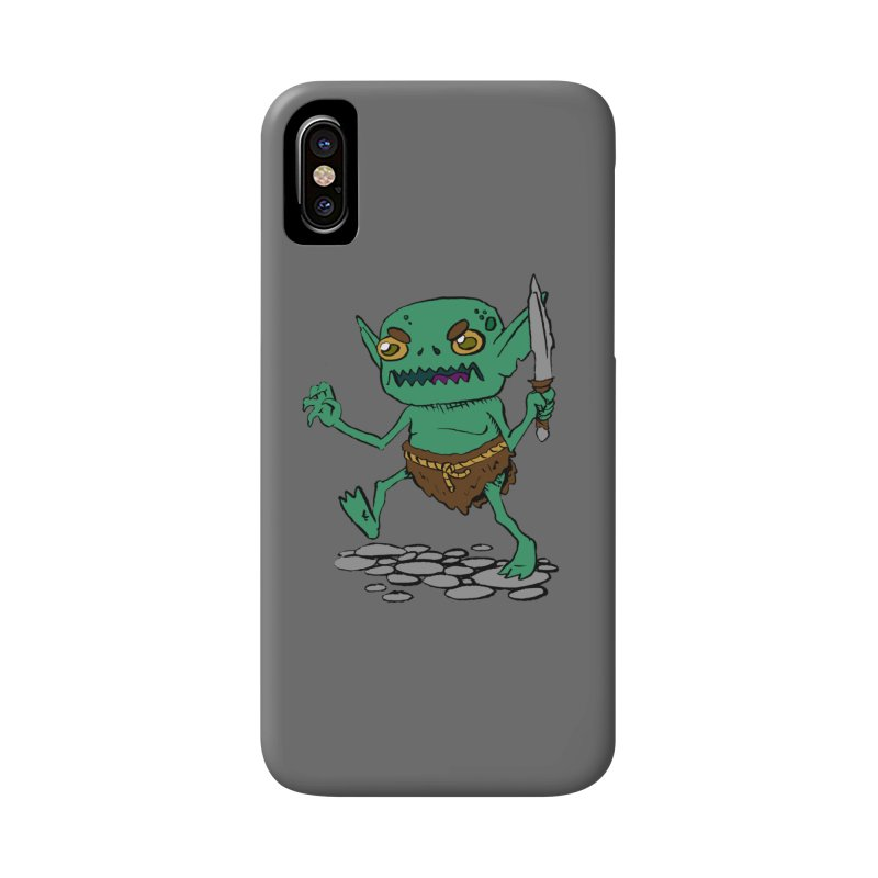 Sweet Goblin Boy Accessories Phone Case by Nathan Burdette's Artist Shop