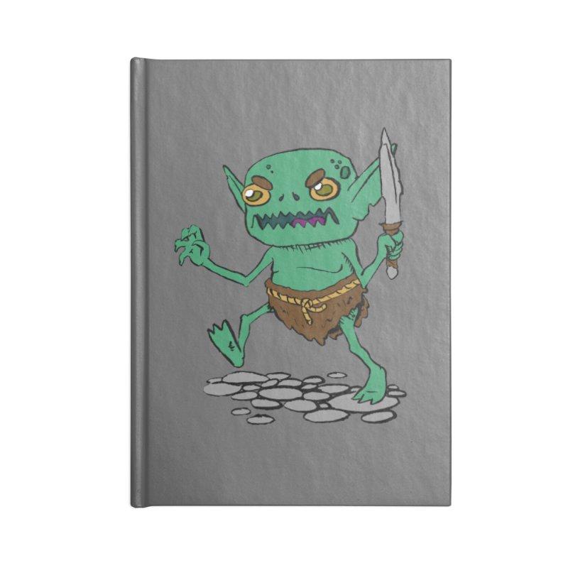 Sweet Goblin Boy Accessories Notebook by Nathan Burdette's Artist Shop