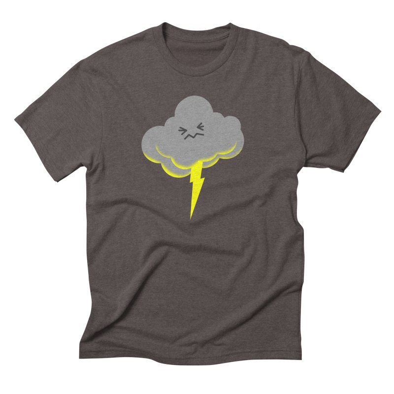 Shazam! Men's Triblend T-Shirt by Nathan Burdette's Artist Shop