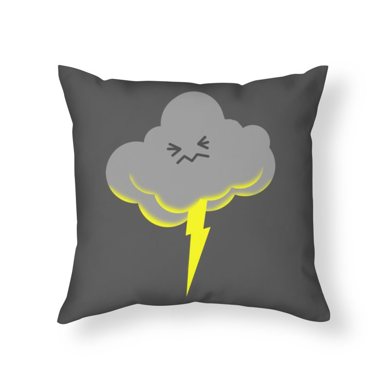 Shazam! Home Throw Pillow by Nathan Burdette's Artist Shop