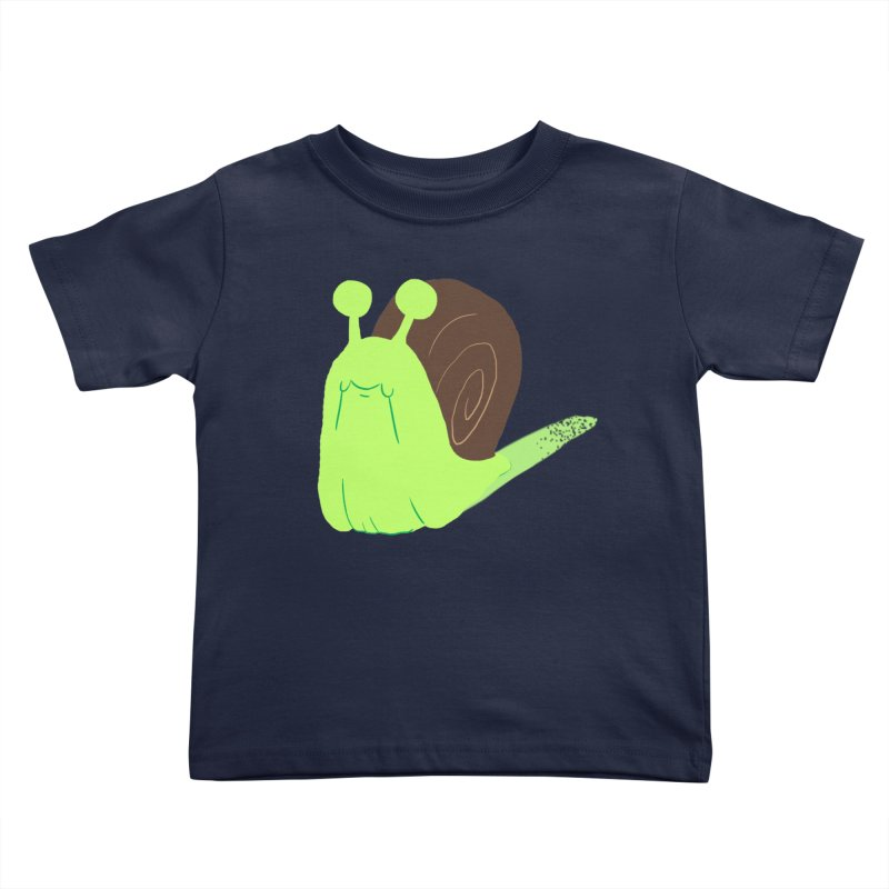 Slow & Sticky Kids Toddler T-Shirt by Nathan Burdette's Artist Shop