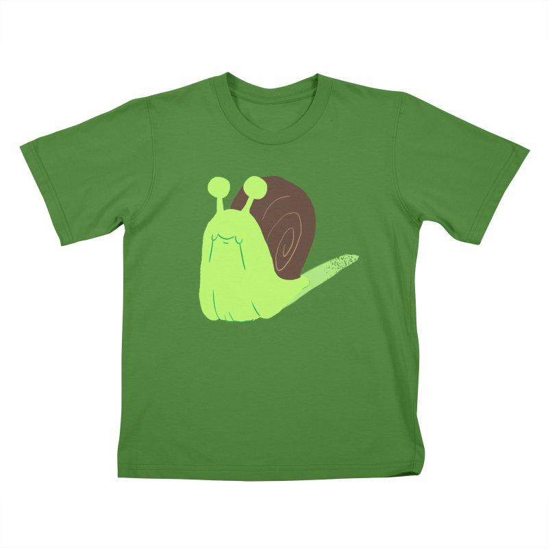 Slow & Sticky Kids T-shirt by Nathan Burdette's Artist Shop